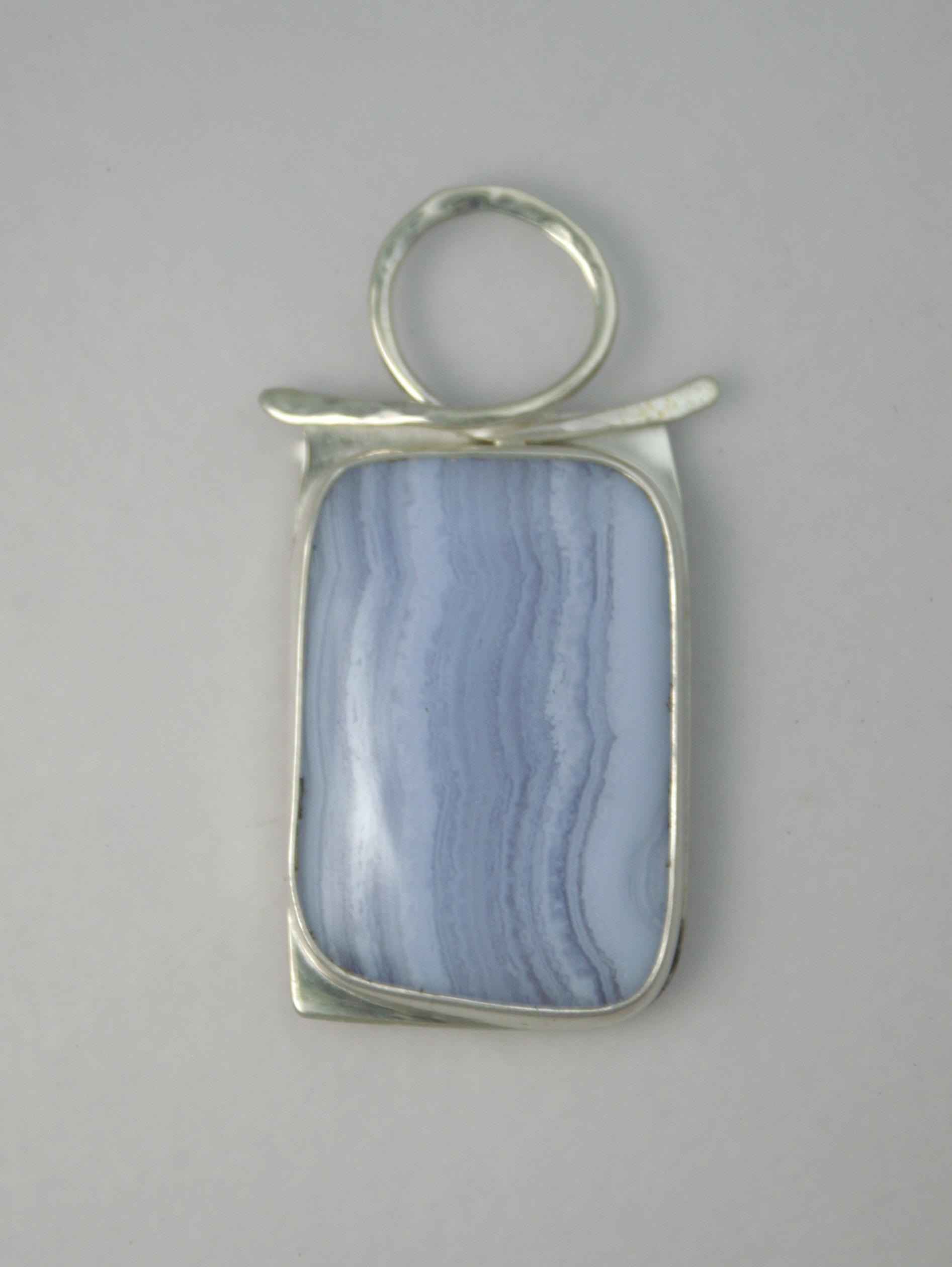 "#3116 Blue Lace Centerpiece  $150. 1"" x 2""   Africa"