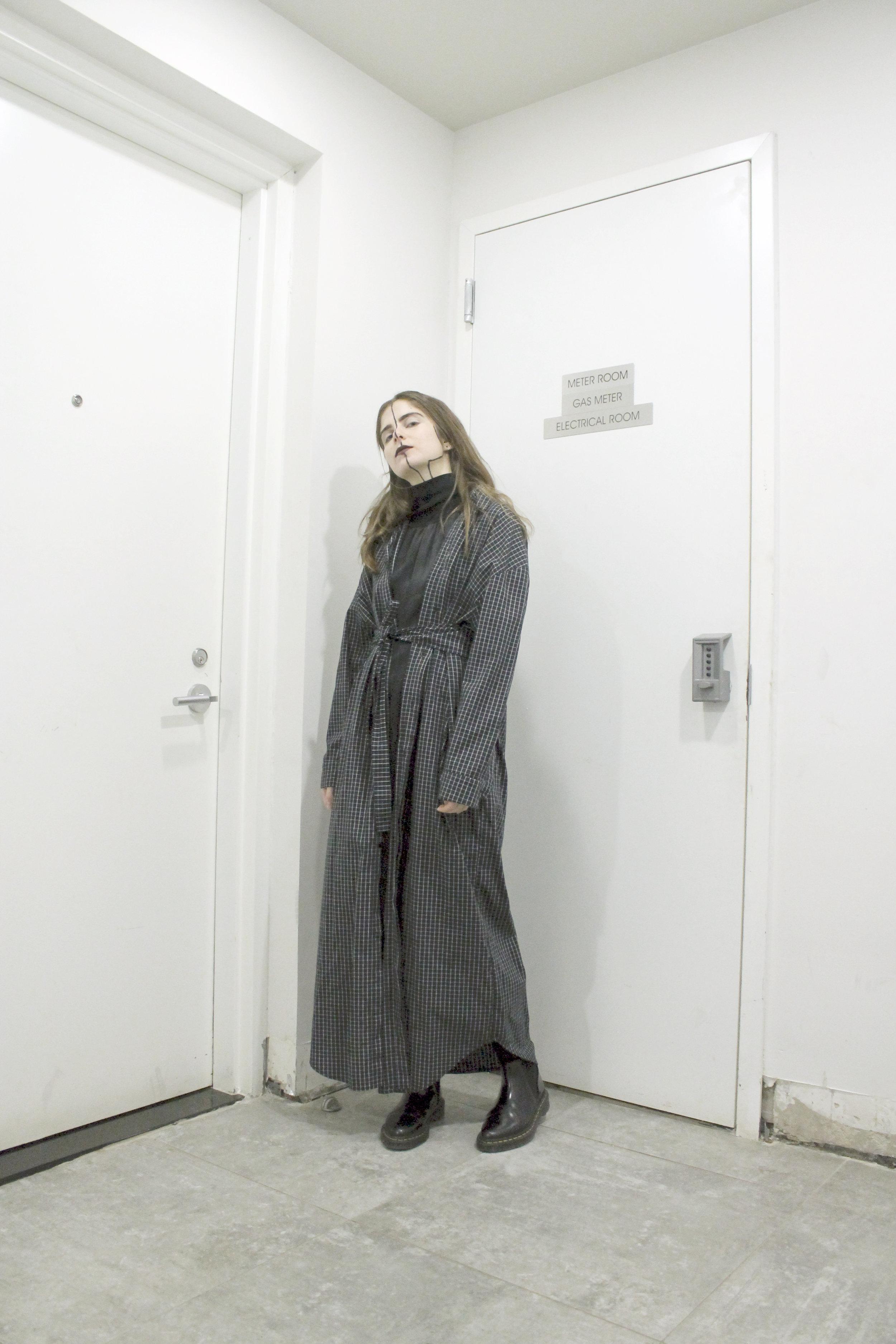 secretary dress / betty charmeuse