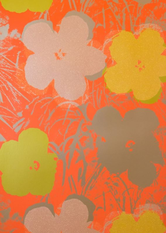 Andy Warhol Flowers     ©/®/TM The Andy Warhol Foundation for the Visual Arts, Inc.