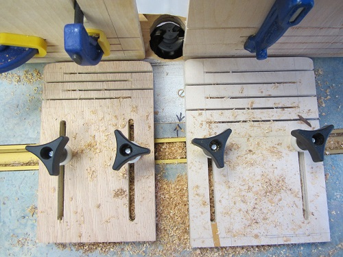 clamps for routing strips
