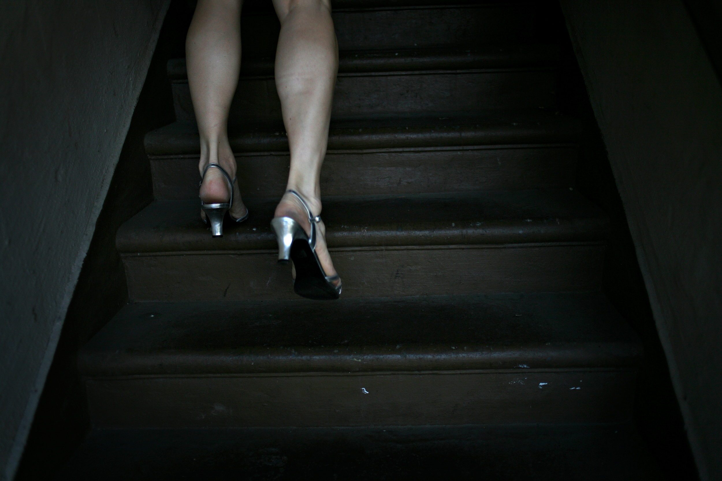 """Elena walks up the stairs to her Stockton apartment. She maintains a job as a finance manager in Livermore, attends meetings with the Stonewall Democrats, and frequents city council meetings, hoping to seamlessly transition from her former self to her current self.  """"What I'm trying to do is just be true, just be authentic, just be myself,"""" she says. """"Even though I lived as a man for 50 years, it doesn't mean I was one. It meant I played the role I was expected to play by society."""""""