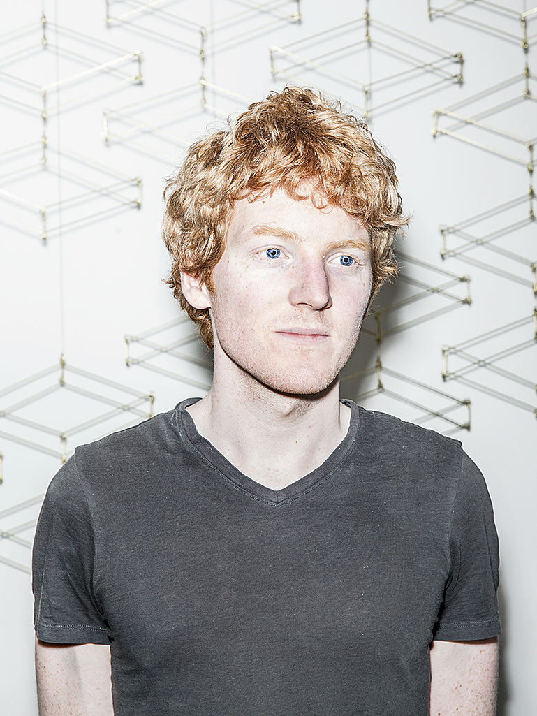 Patrick Collison, co-founder of Stripe, for WIRED.