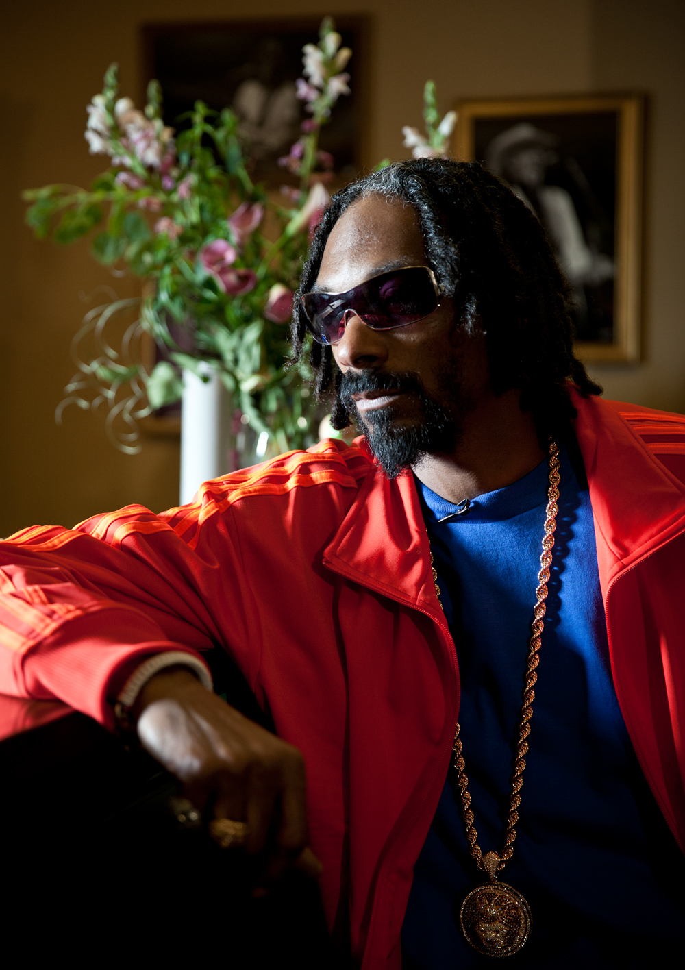 Snoop Lion for  WIRED .
