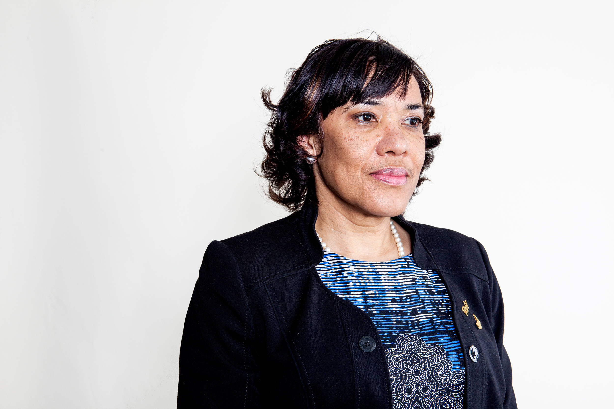 Flint, Mich., mayor Karen Weaver for NPR.