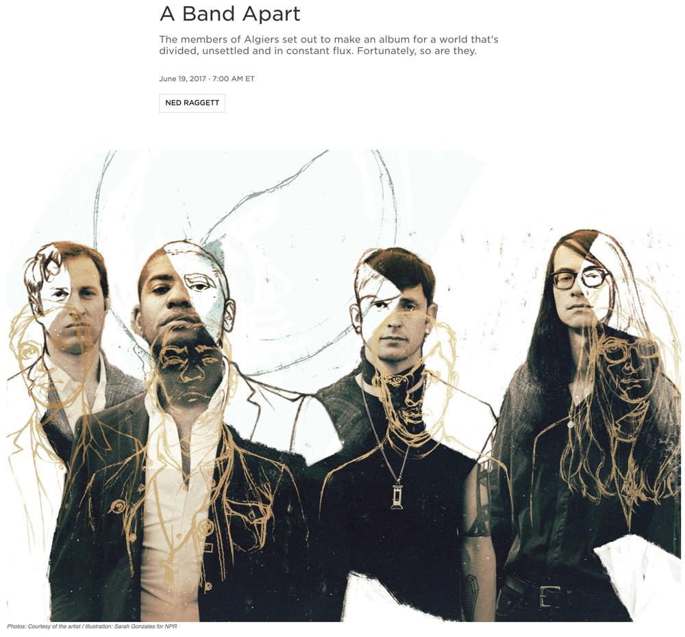 Illustration:  Sarah Gonzales   Art Direction: Ariel Zambelich  Story:  A Band Apart