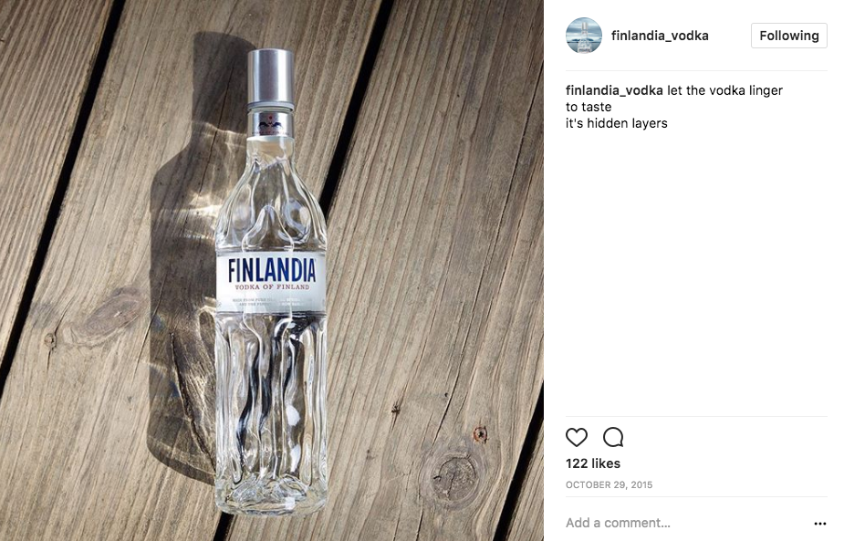 Finlandia Vodka,  Journey From The Source  campaign