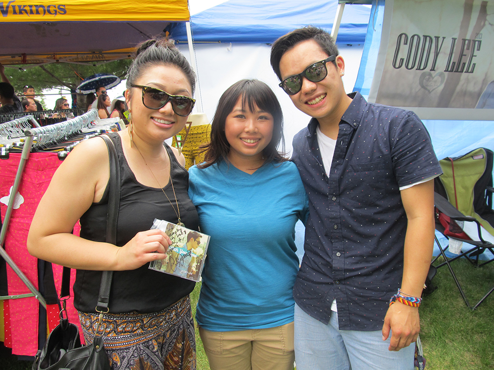 With Maa Vue and Cody Lee. J4 2013.