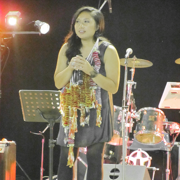 Performing for Festival Hmong, a summer Hmong festival in France.