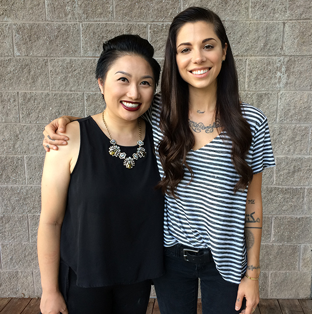 With the inspiring and super talented singer/songwriter, Christina Perri.
