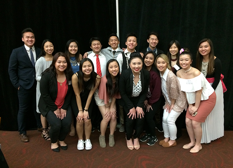 With the bright & talented Hmong American Student Association (HASA) of UW-Madison
