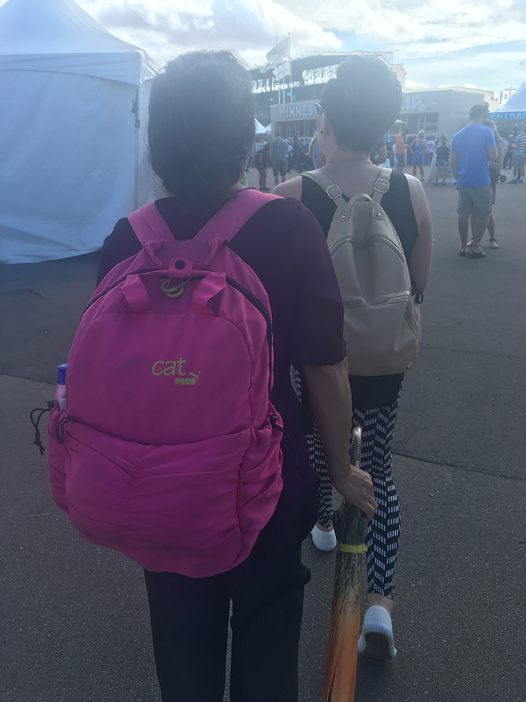 Mom & me prepared for the MN State Fair.