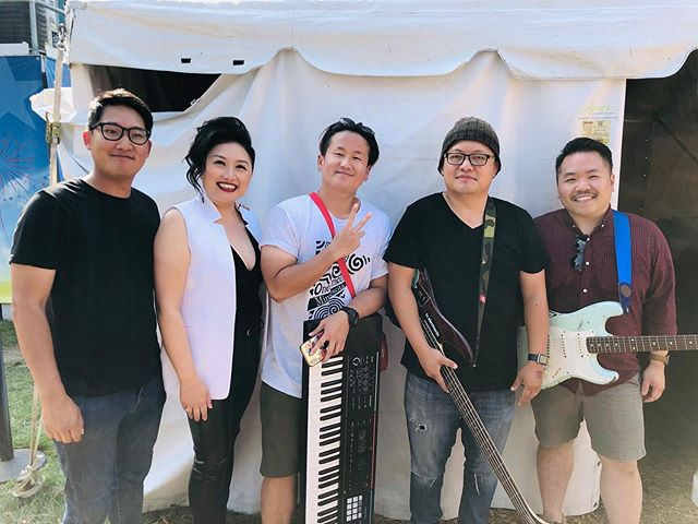 """Always surround yourself with people who are even more talented and competent than you."" -Stephen Covey . A HUGE thank you to my band at Hmong MN Day at the MN State Fair. The level of respect you each have for your craft as a musician inspires me. You make me want to listen to sing better. You make me want to create with more intention. And then to top it off, you're all so humbly (and damn) talented. Thank you for everything this past month. 🙏🏼❤️ . Shawn Mouacheupao, drums Yeng Josh Xiong, keyboard Kenny Lee, bass Shu Lor, guitar"