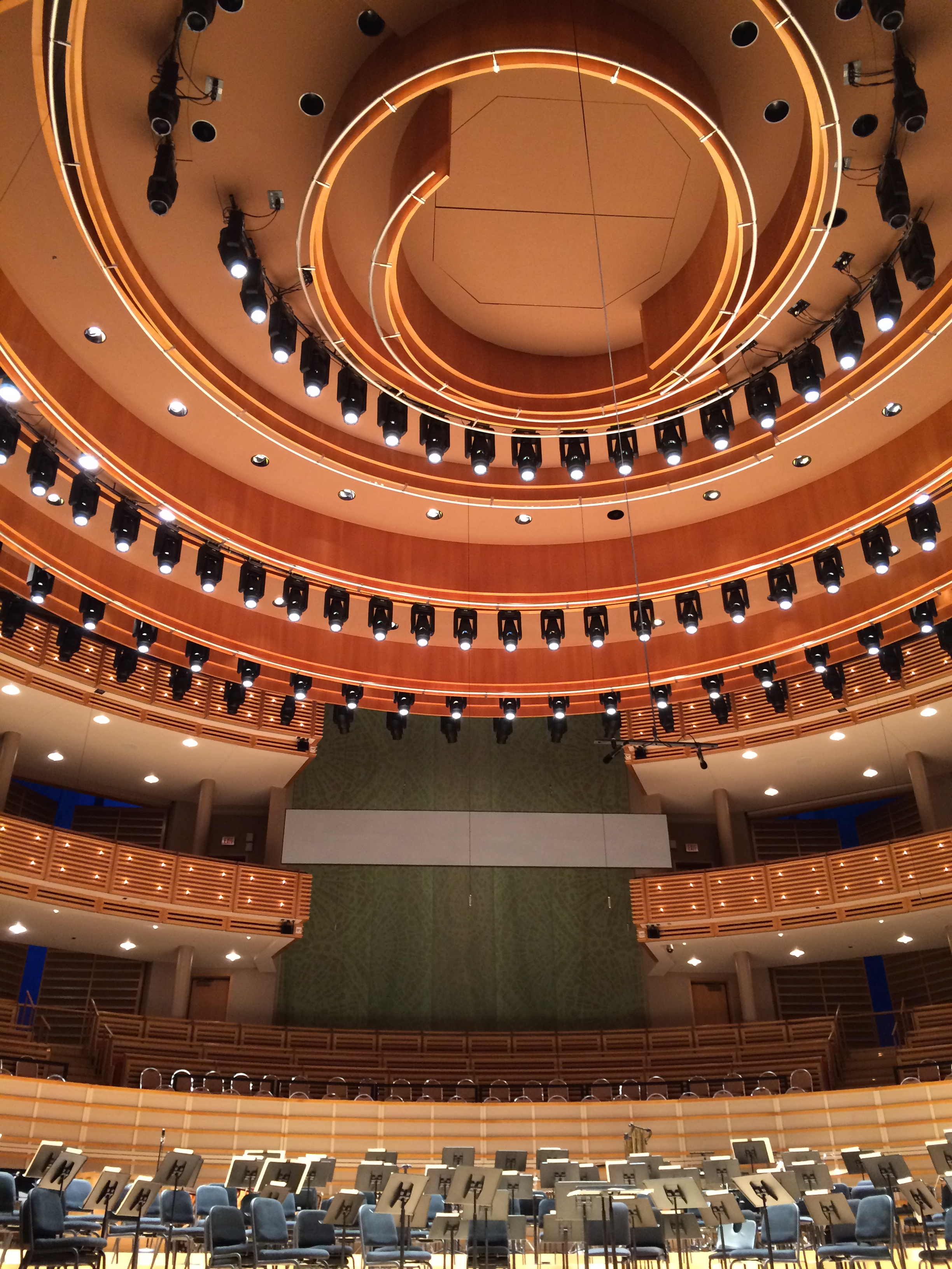 Knight Concert Hall at the Adrienne Arsht Center for the Performing Arts