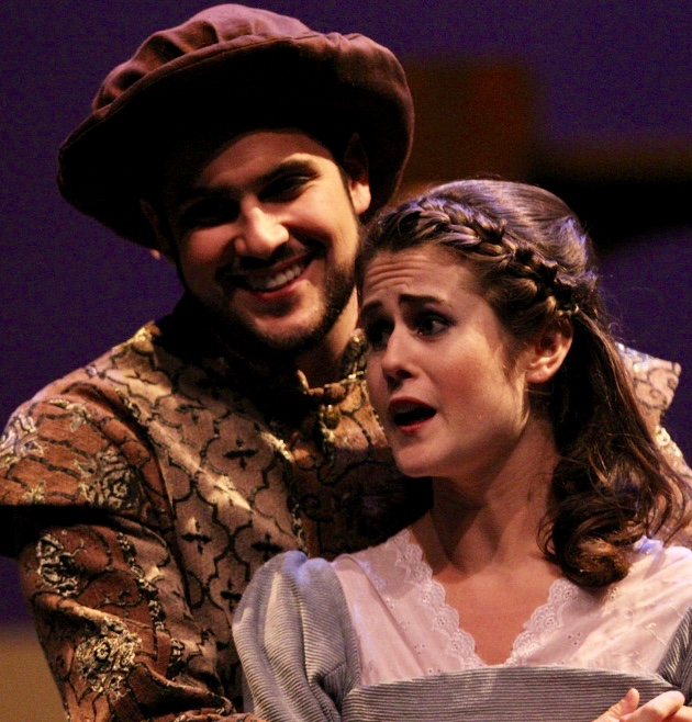 "A  s Nannetta in ""Falstaff "" Moores Opera Center, University of Houston"