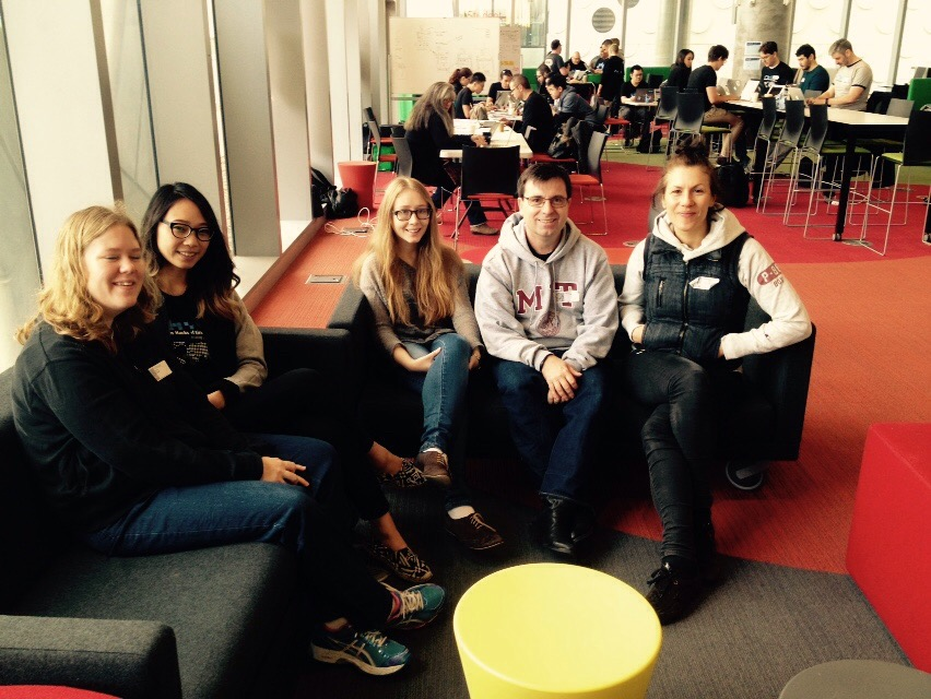 The changemakers for the Melbourne 2015 Winter Hackathon