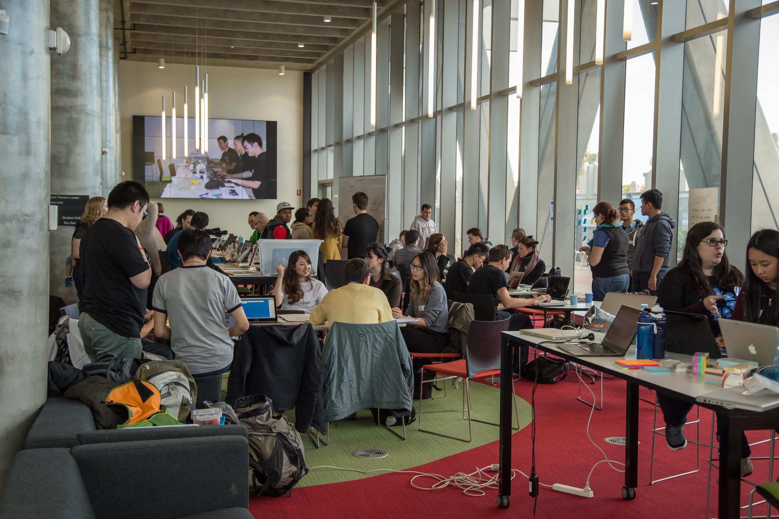 2015 Winter Hackathon - Swinburne University of Technology