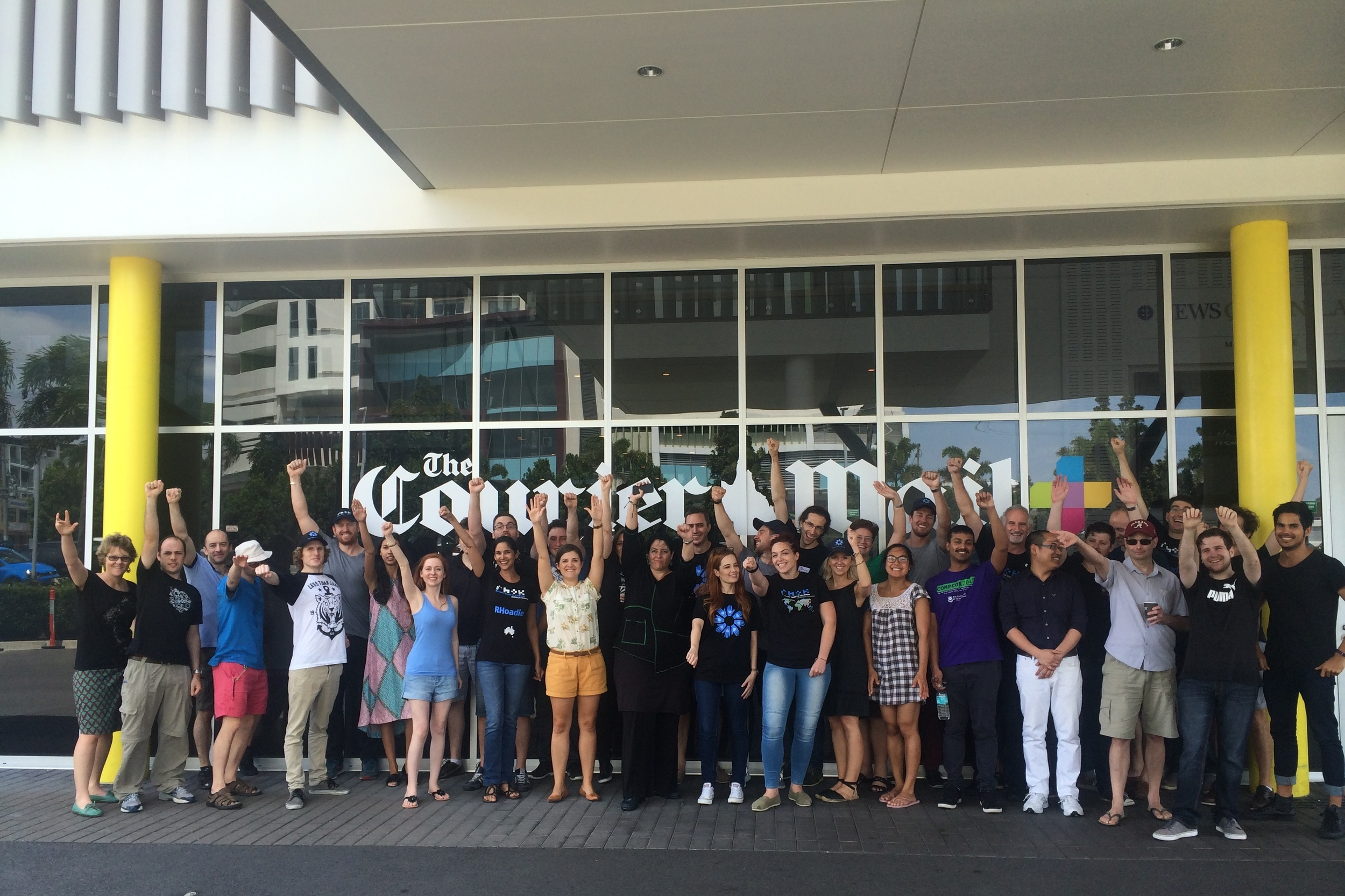 2015 Summer Hackathon - The Courier Mail