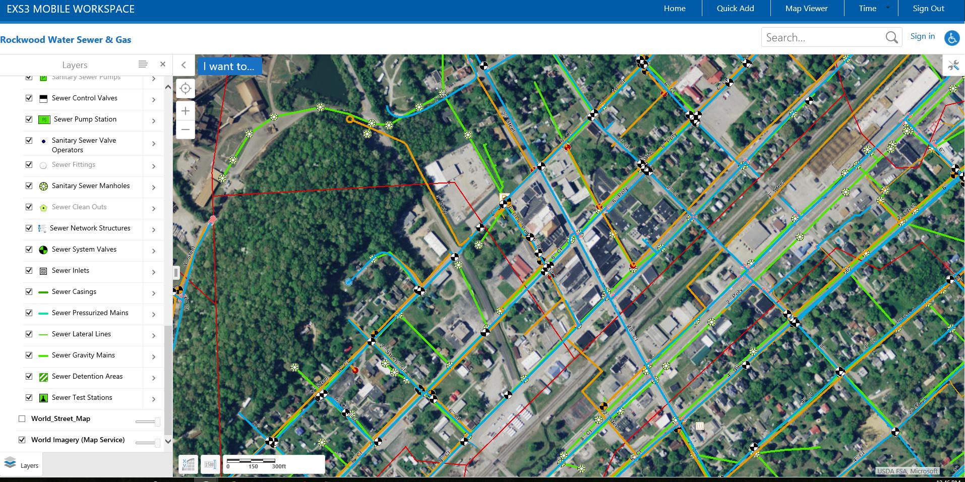 Elements XS | GIS Based Asset Management at Rockwood WSG