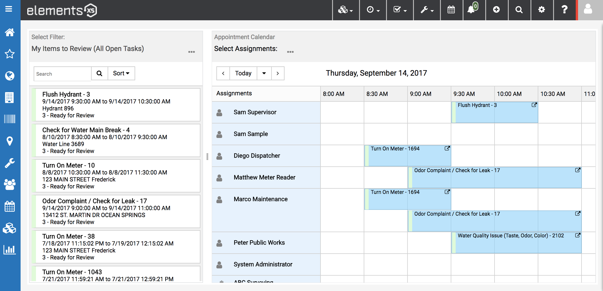 Unique tools for scheduling and dispatching with a fresh, modern user interface.