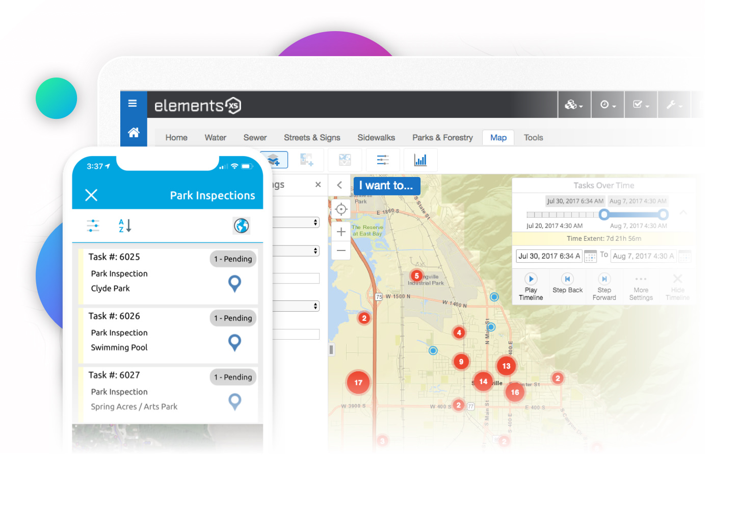 Elements XS: GIS Centric Asset Management Software for