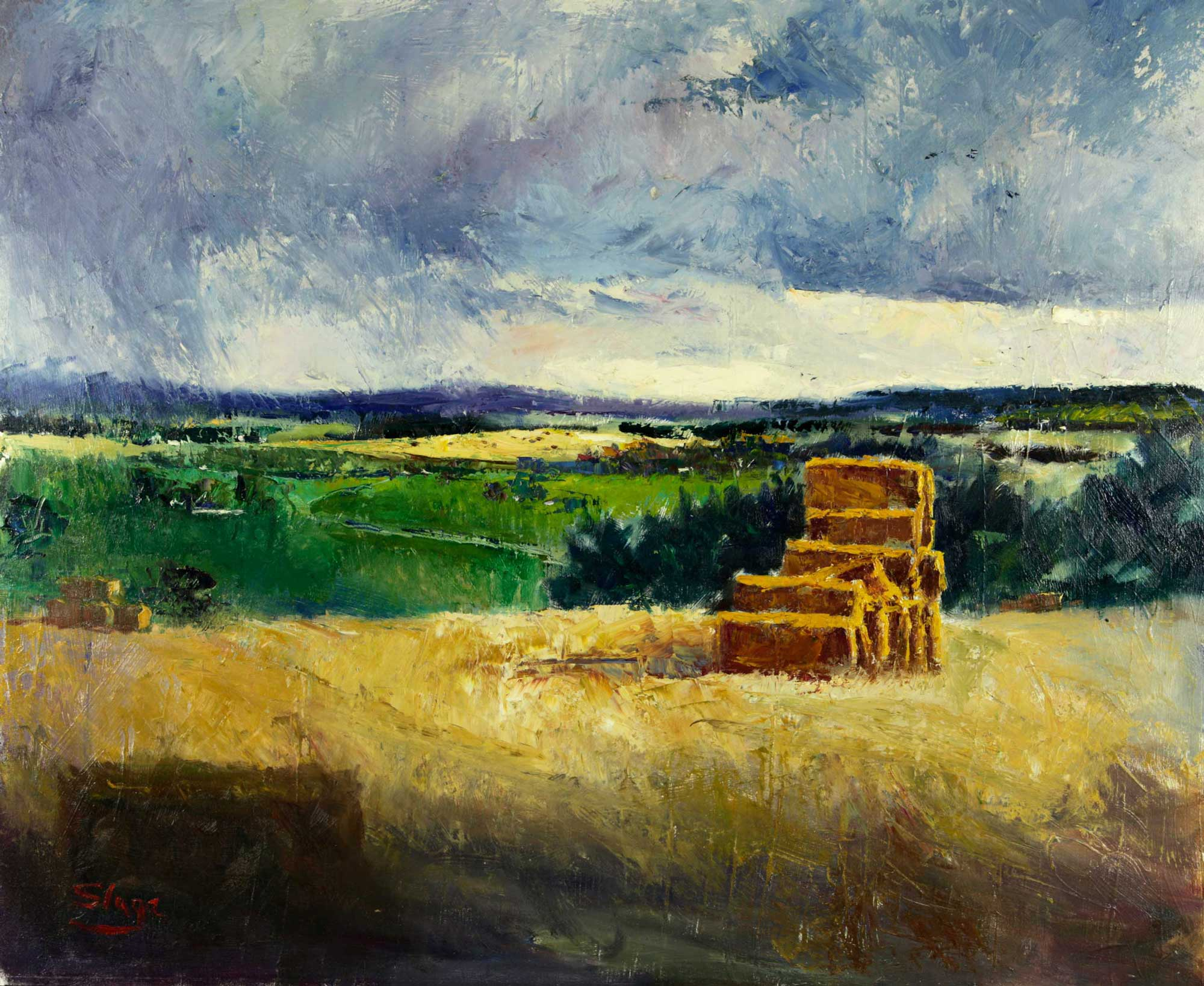Summer Harvest  98 x 55 cm
