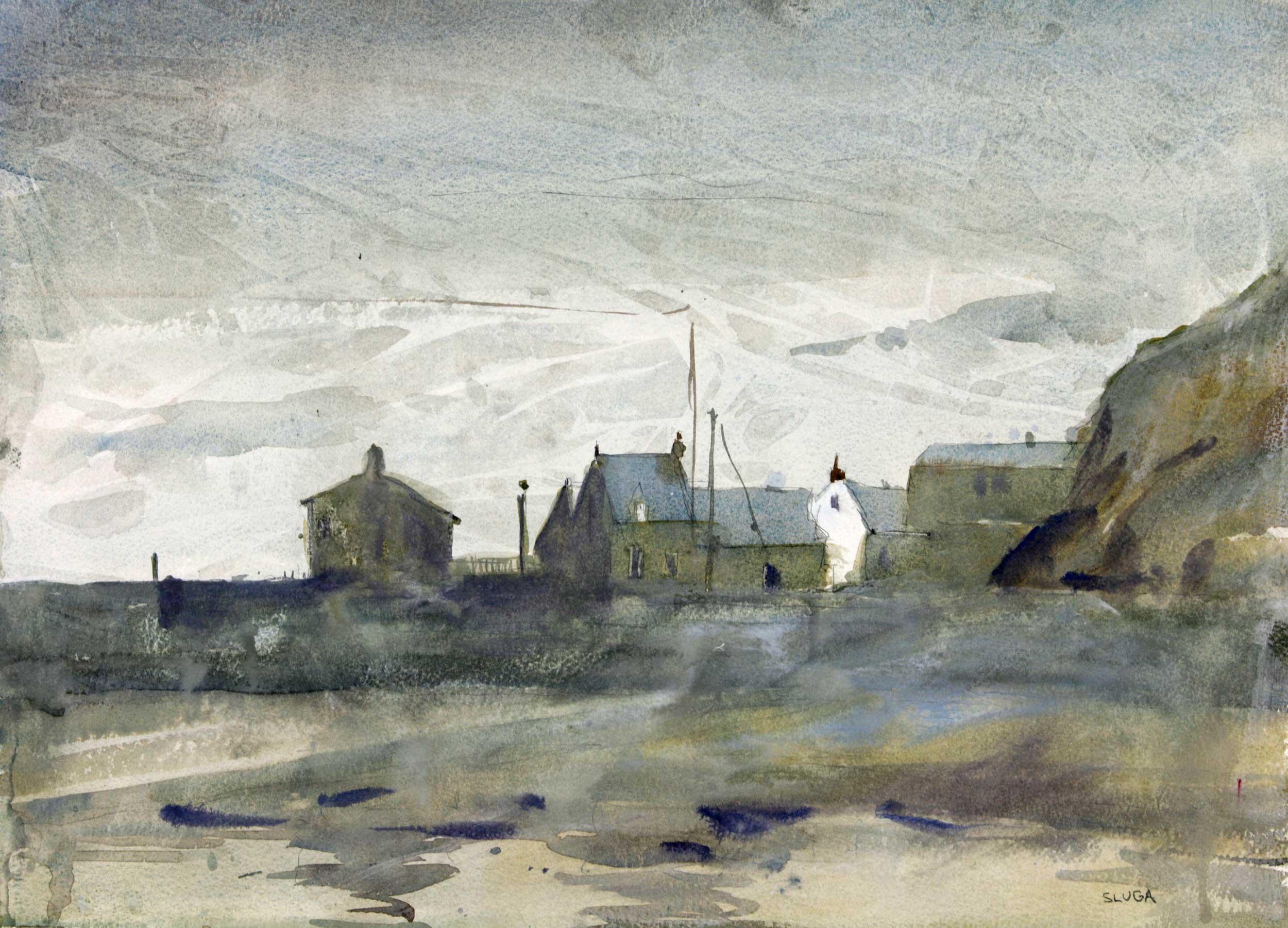 Cold Day, Scotland 51 x 38 cm