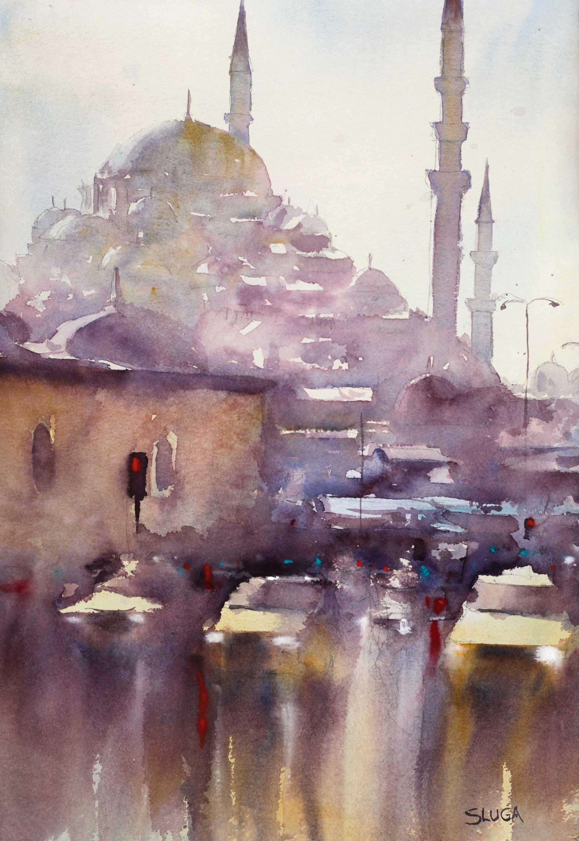 Memories of Istanbul 37 x 54 cm