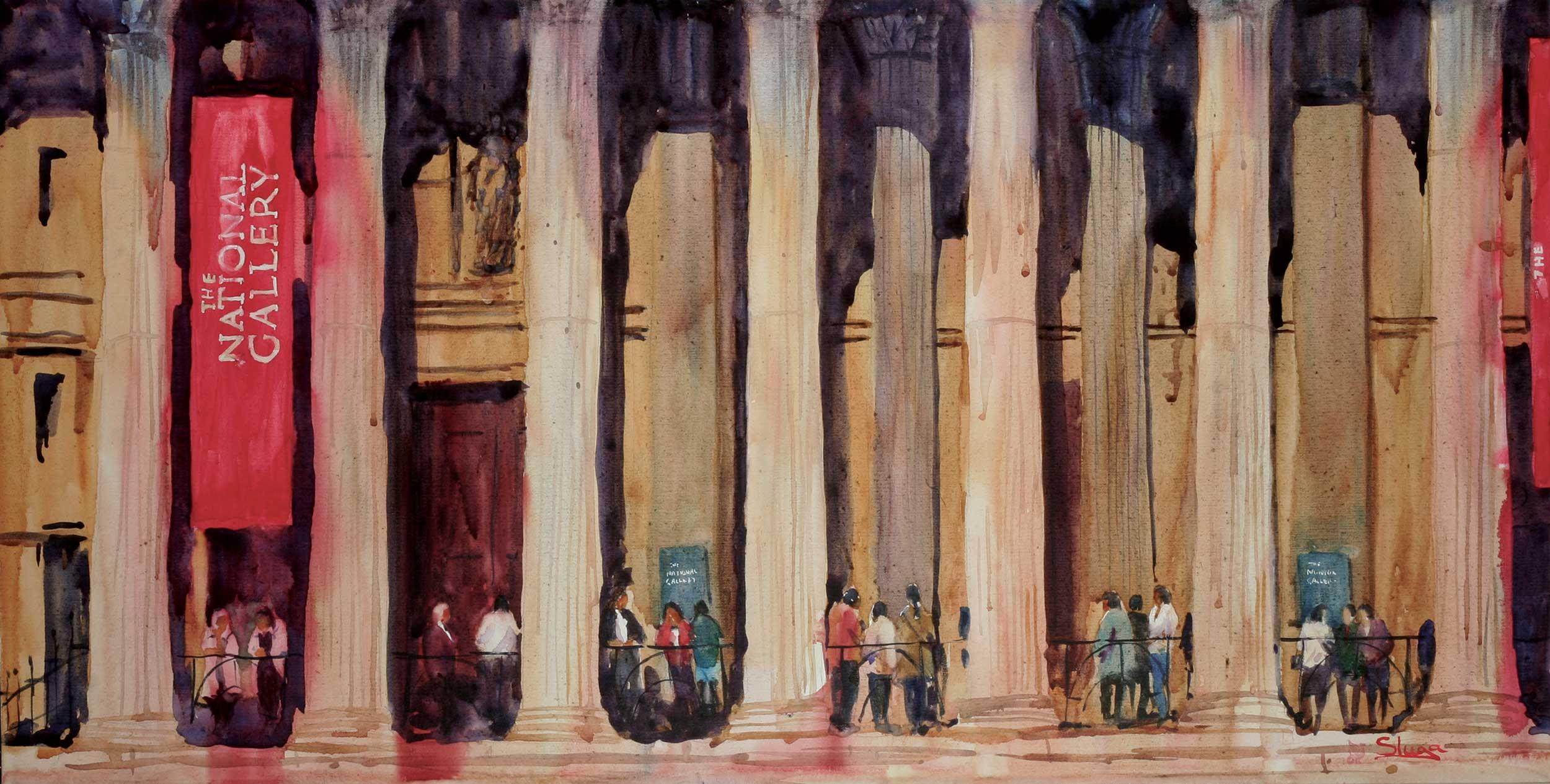 National Gallery, London 122 x 61 cm