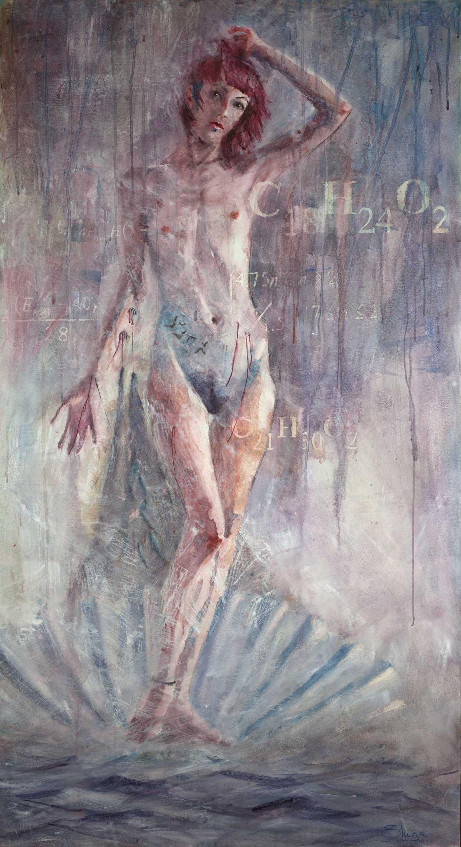 Rebirth of Venus 112 x 206 cm