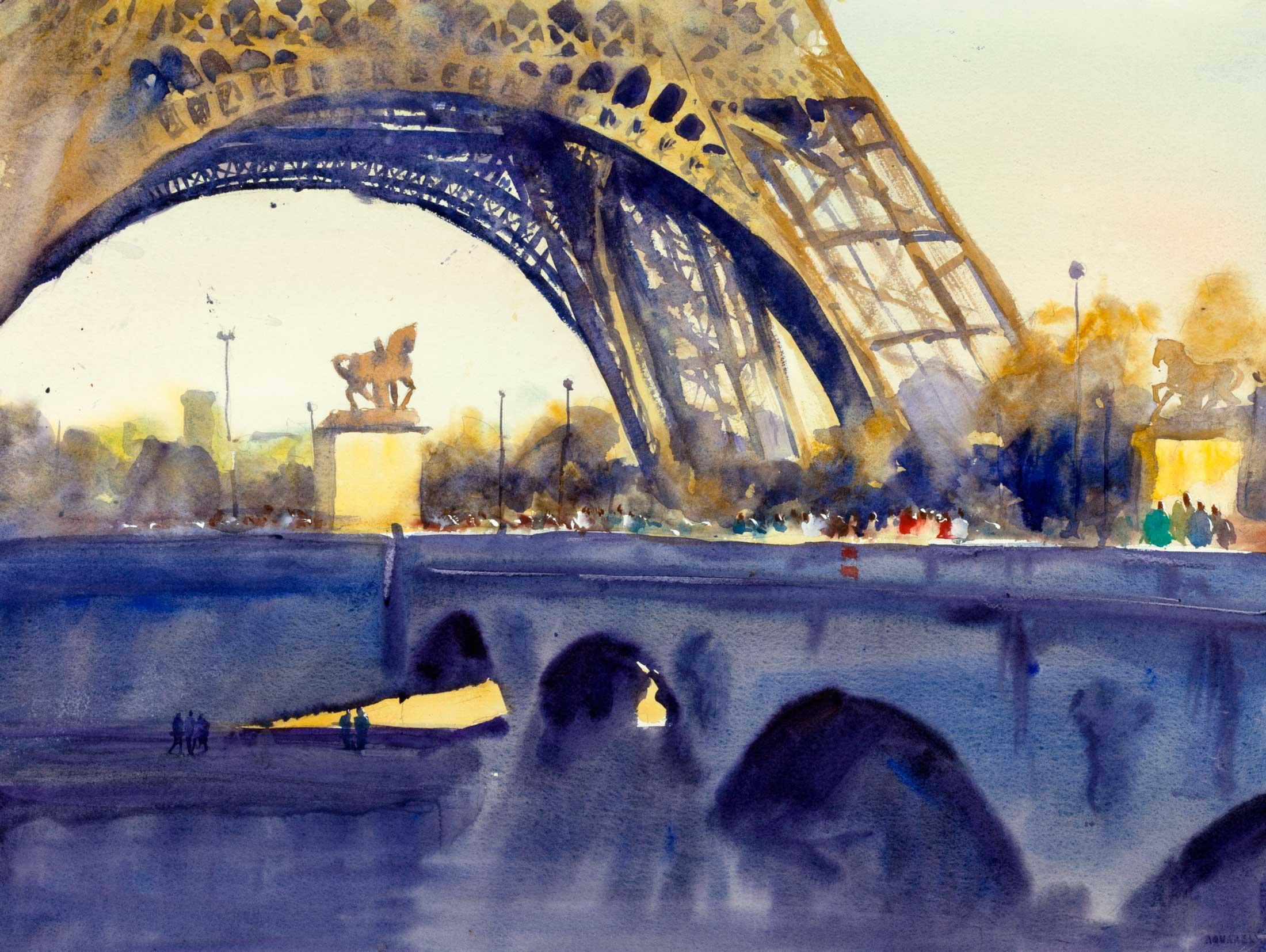 Paris Afternoon 64 x 47 cm