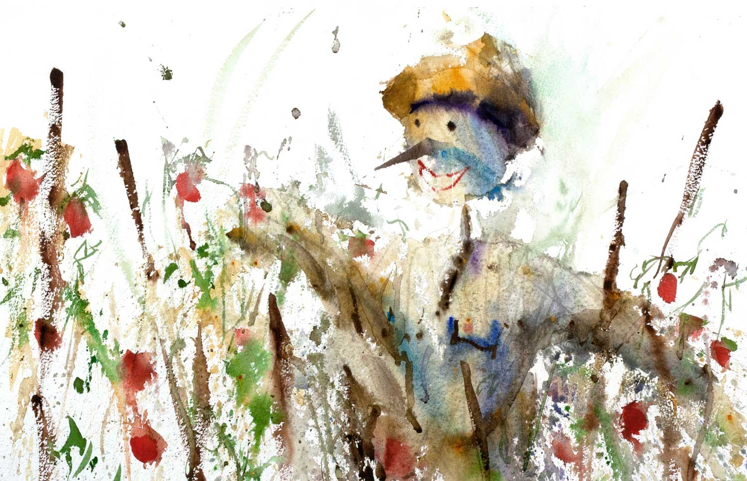 Lily's Scarecrow (Sold)