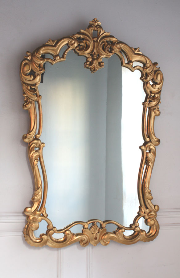 Grand miroir baroque