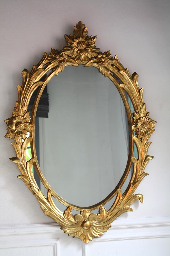 """Miroir à parclose """"Marguerite"""""""