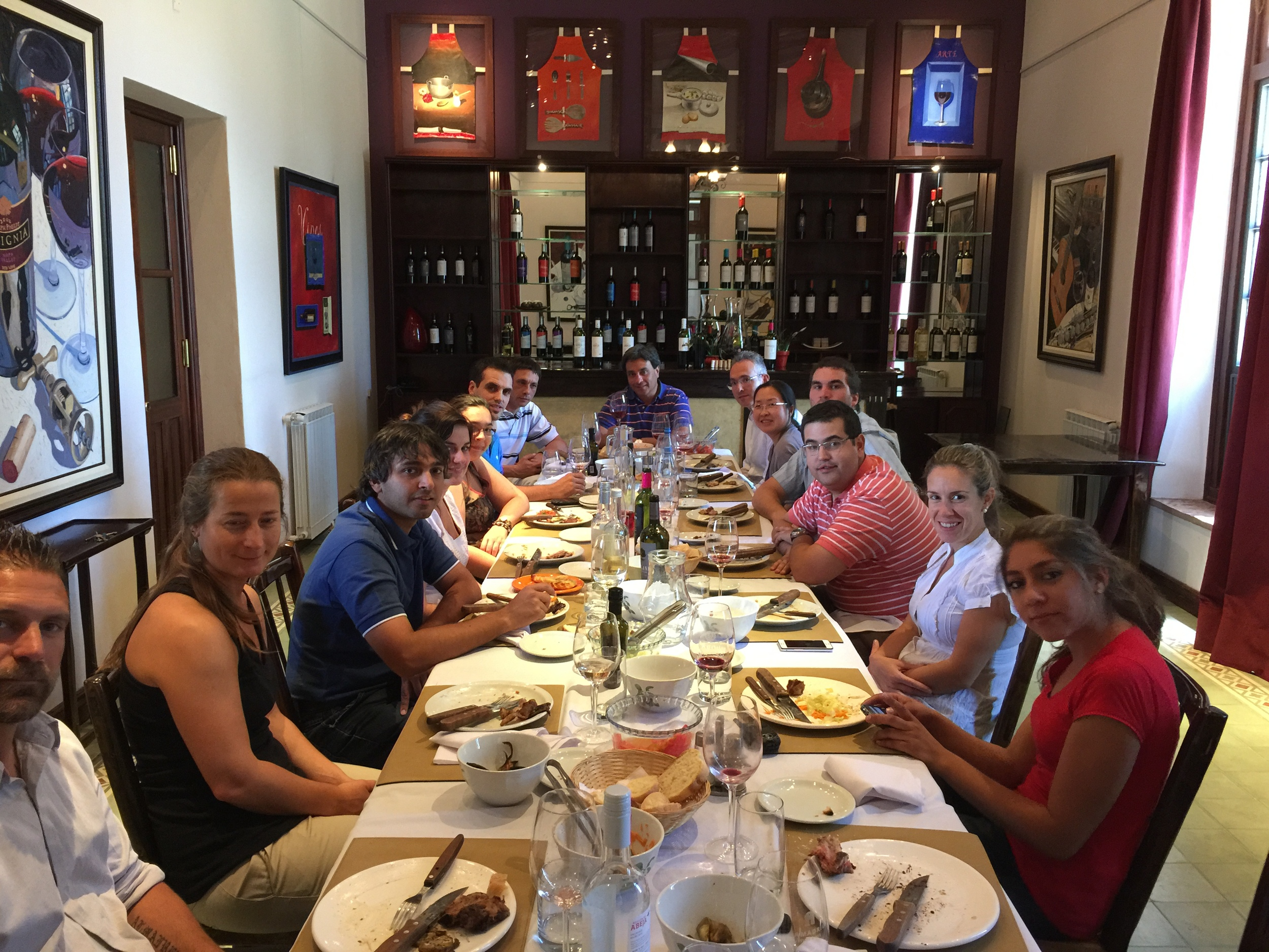 Lunch with the Durigutti Winery