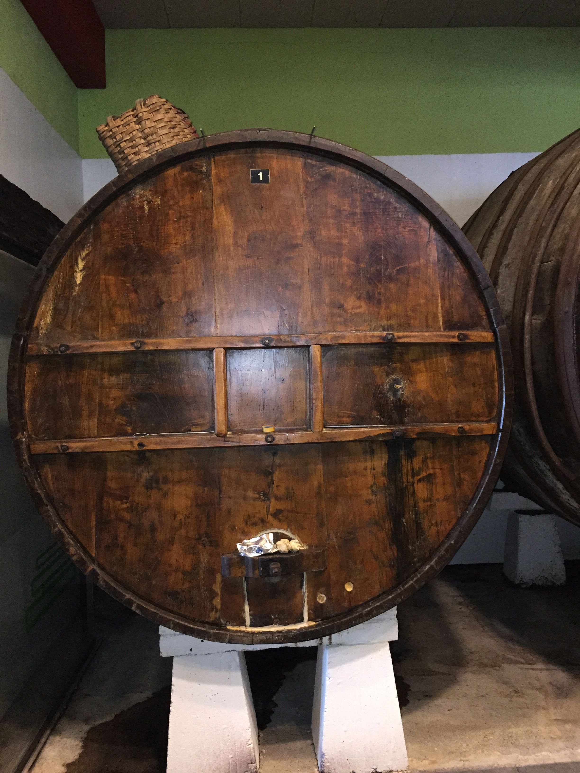 Old Chestnut Wood Vat