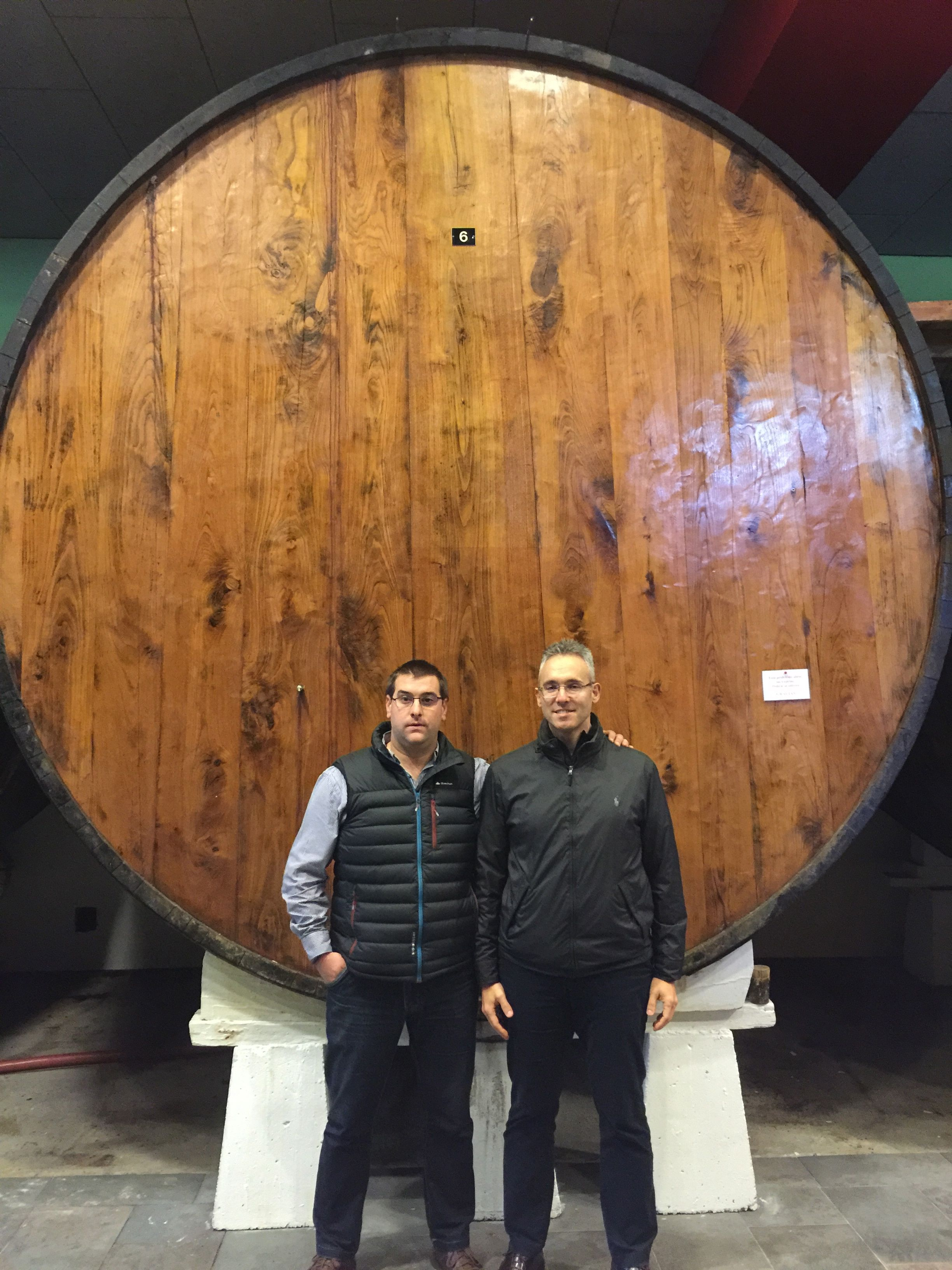 Aitor Bereziartua, Cider Maker and Florencio