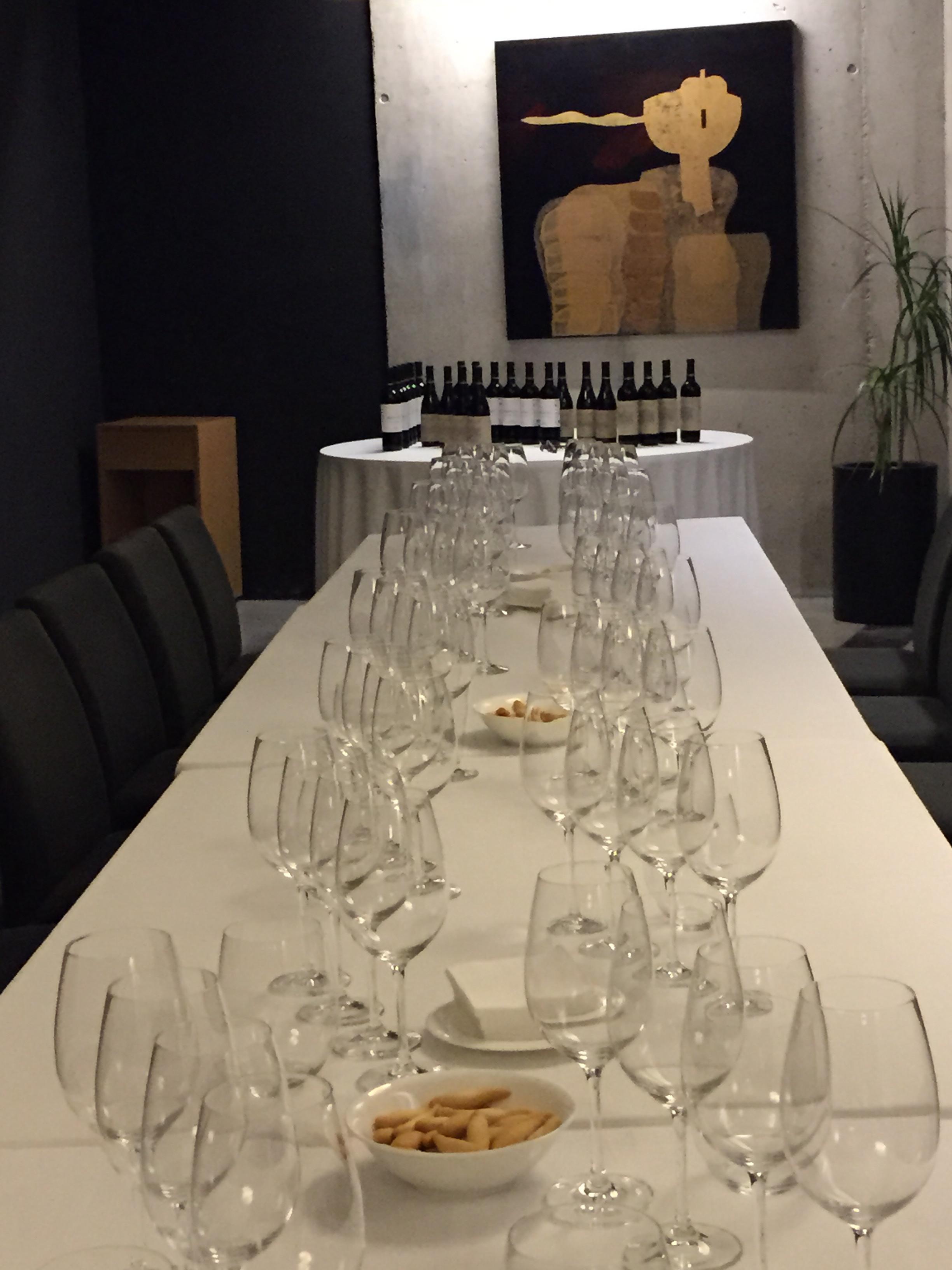 Beautiful Tasting/Dinner Set Up