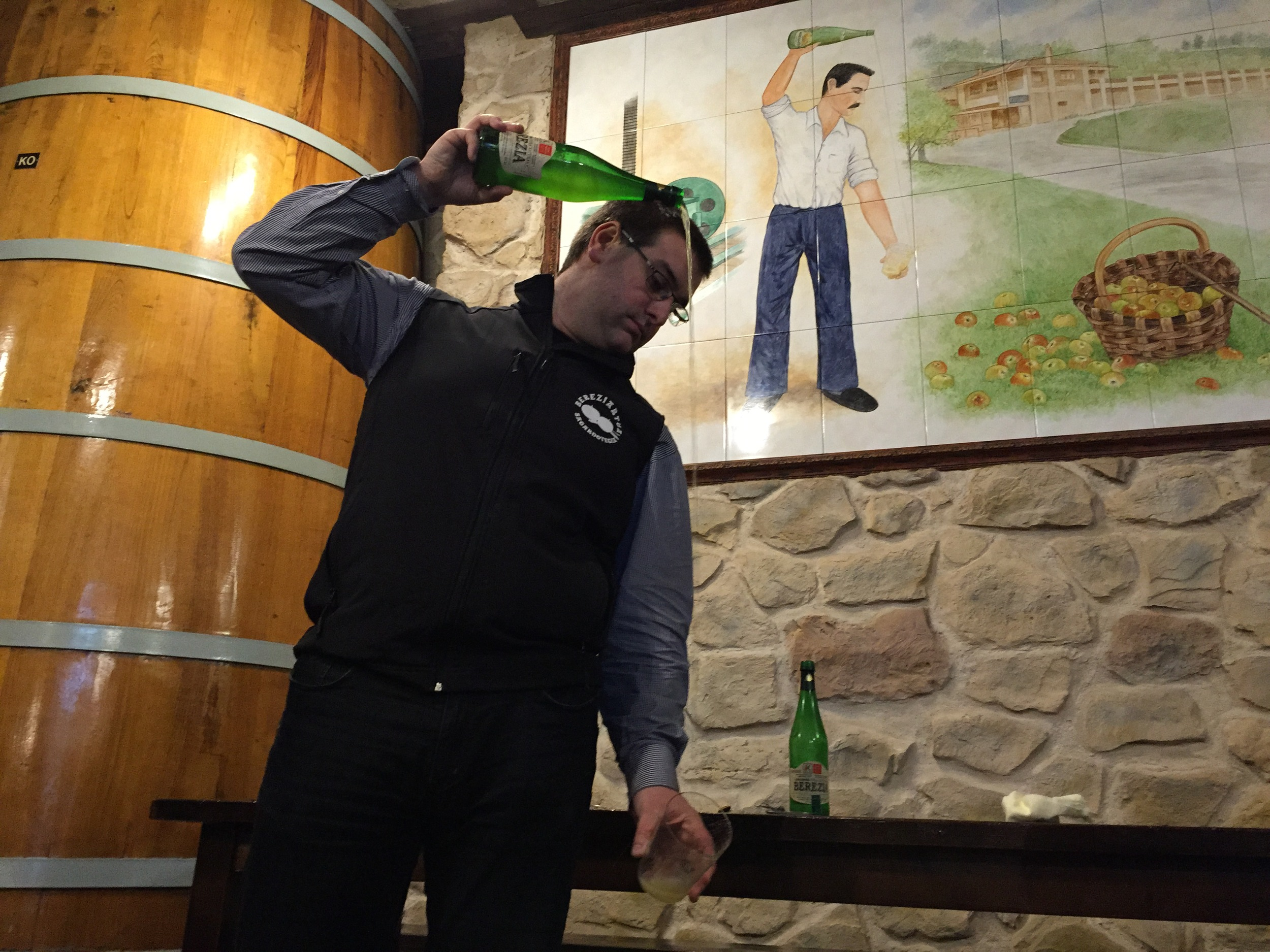 Like Father Like Son, Aitor Bereziartua, Fourth Generation Cider Maker