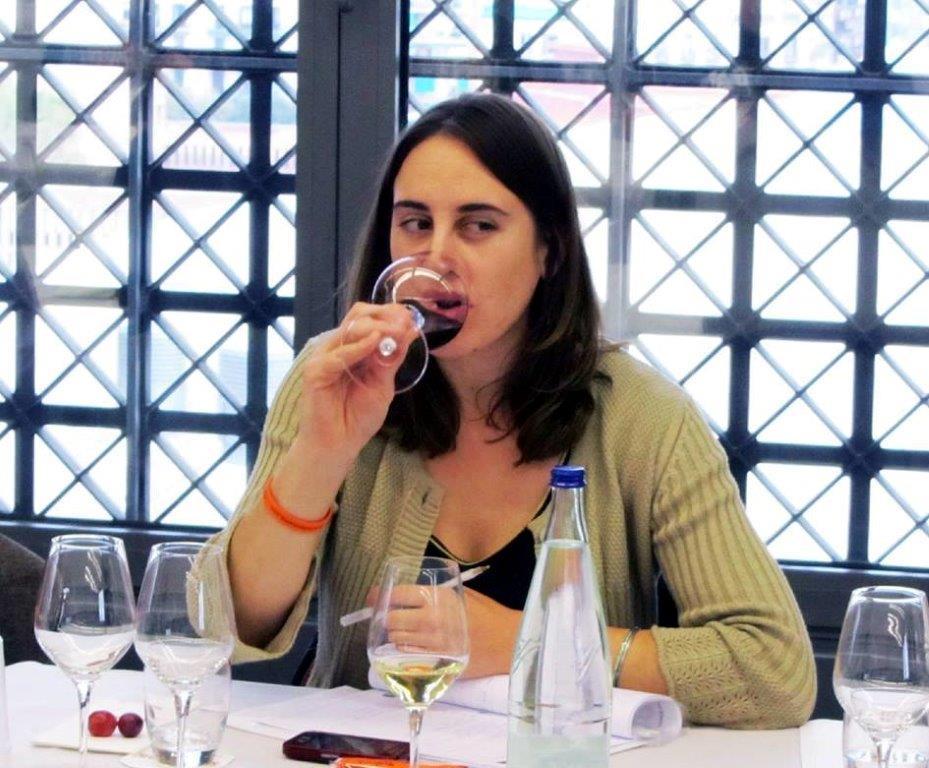 Sandra Estevez, winemaker