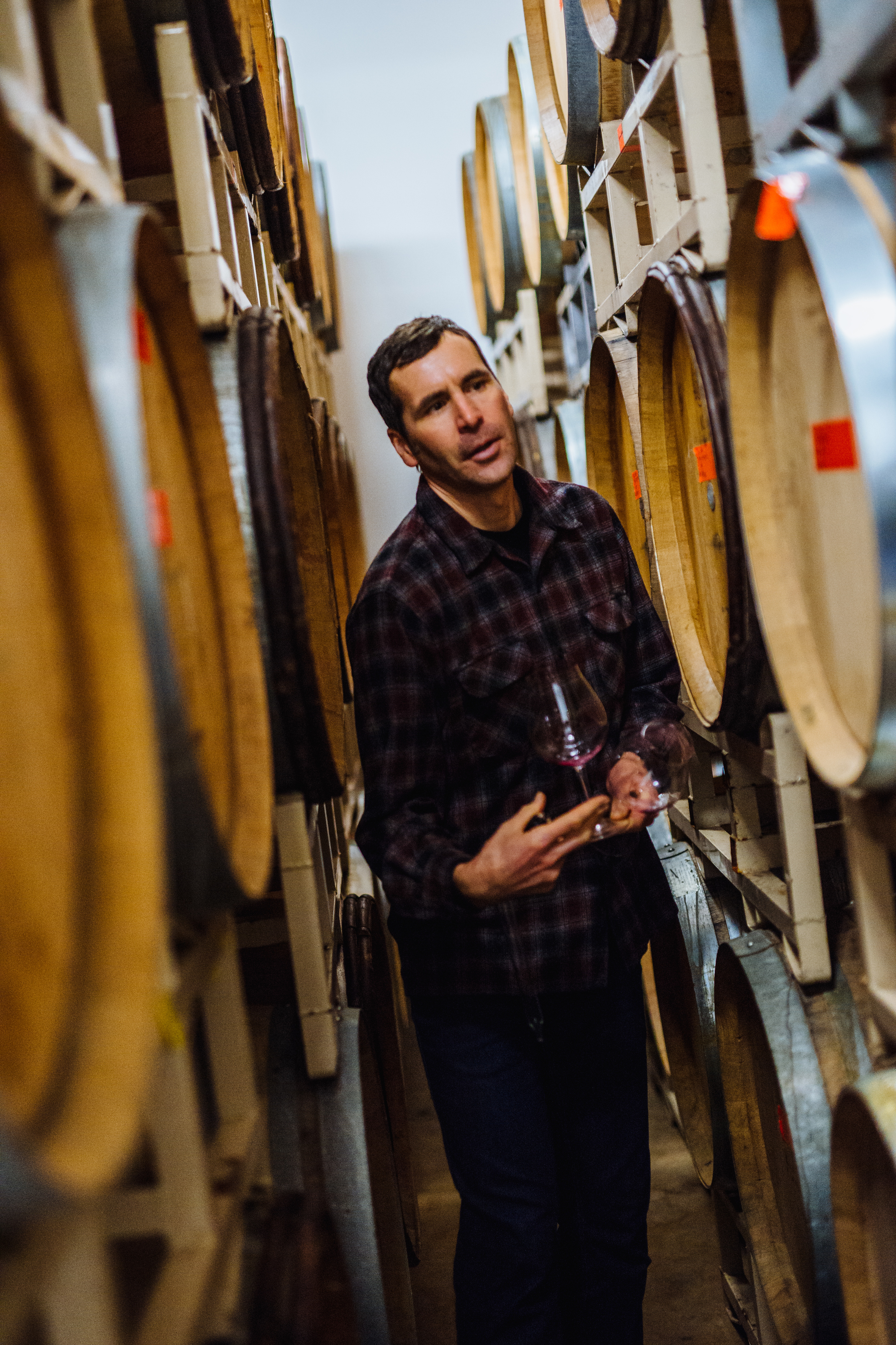 GC John among barrels 2.JPG