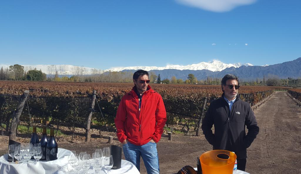 Durigutti brothers tasting in vineyard.jpg