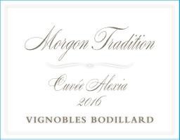 Morgon Tradition Cuvee Alexia front label.jpeg