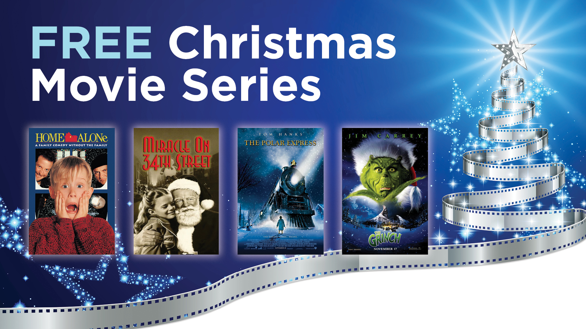 Join us for a classic Christmas movie and support a great cause!