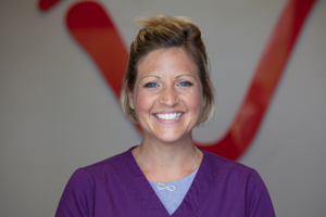 Becky D.: Dental Hygienist  I graduated from WCTC in 2011, with my associate degree in dental hygiene. Before that, I was Dr. Wilk's assistant for 11 years. My husband and I live in Kewaskum and have two little girls, Isley and Hazel. Some of my favorite things to do, besides spending time with my family, is going on cruises (to any warm location!), running outside and taking my daughters shopping for cute clothes. My favorite season is summer and enjoy spending time in the sun and going away for long weekends. I love working for an office that continues to improve and grow and getting to know my patients is always something I enjoy.. I'm happy to be here at Grand Avenue Dental Care!