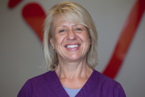 Jeanne M.: Dental Hygienist  I have been a Dental Hygienist for 25 years, and I continue to love my profession. I have been working at Grand Avenue Dental Care since 2013 and really enjoy the office and the people. I am also a massage therapist and aesthetician and the proud owner of a day spa in Erin, which I LOVE to work at when I'm not here. Cooking, gardening and doing anything outdoors are my favorite free-time activities. Whether at my spa, or here in the office, I love working one on one with people. Being able to educate people on how to care for their teeth and being able to give them a brighter smile is just awesome!