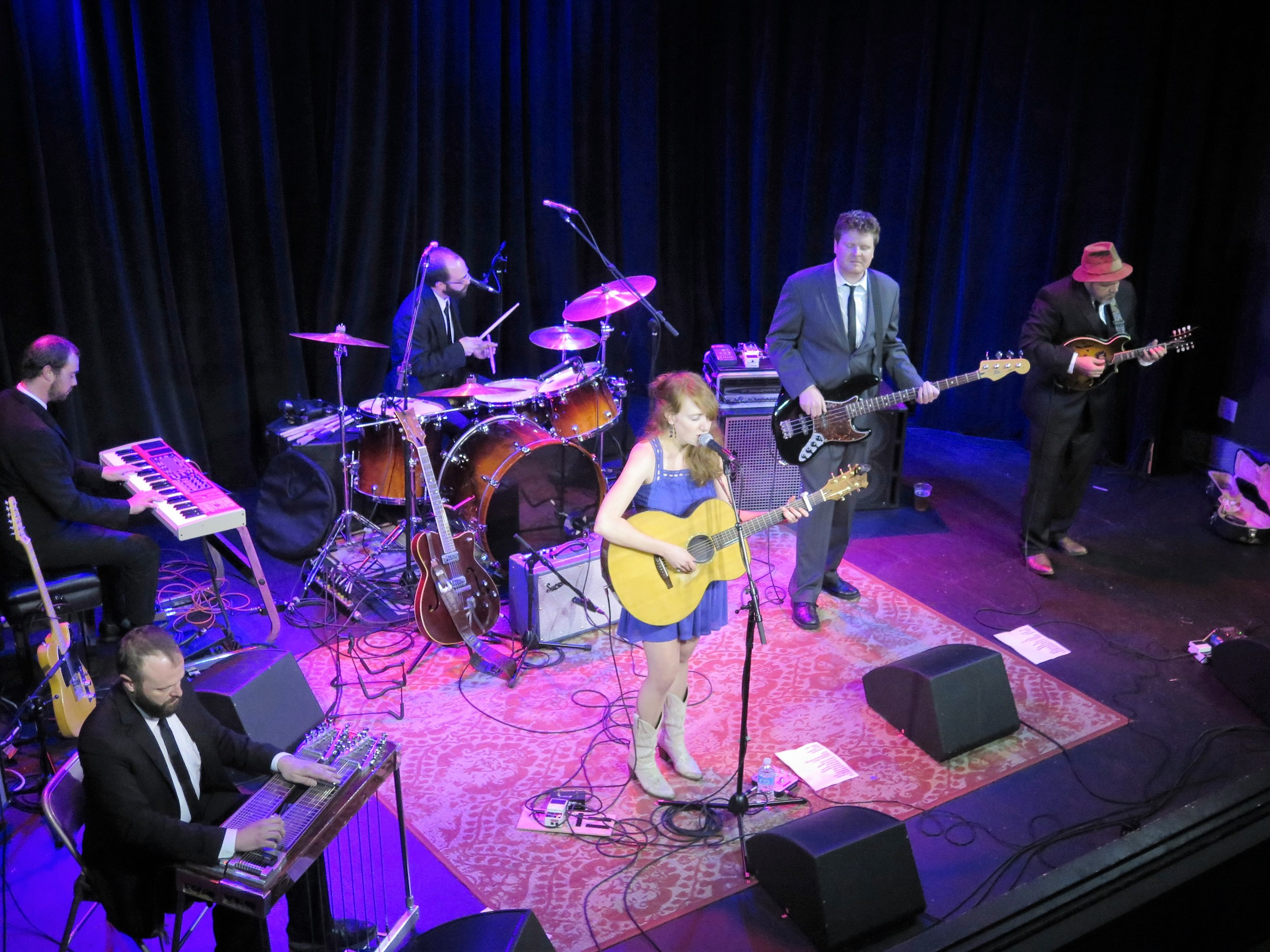 The Honeycutters performing at Isis Restaurant and Music Hall 5-20-16
