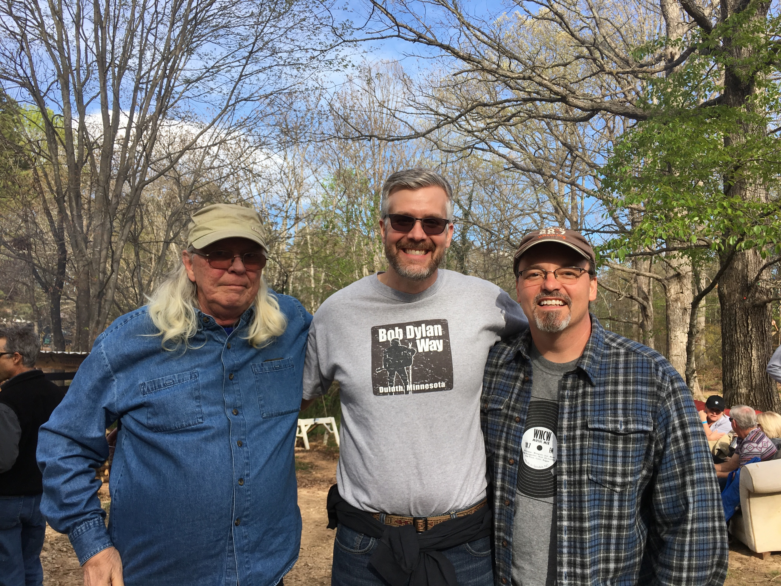 "Michael Edwards, ""Taper"" Mark Johnson and Joe Kendrick at SpringSkunk"