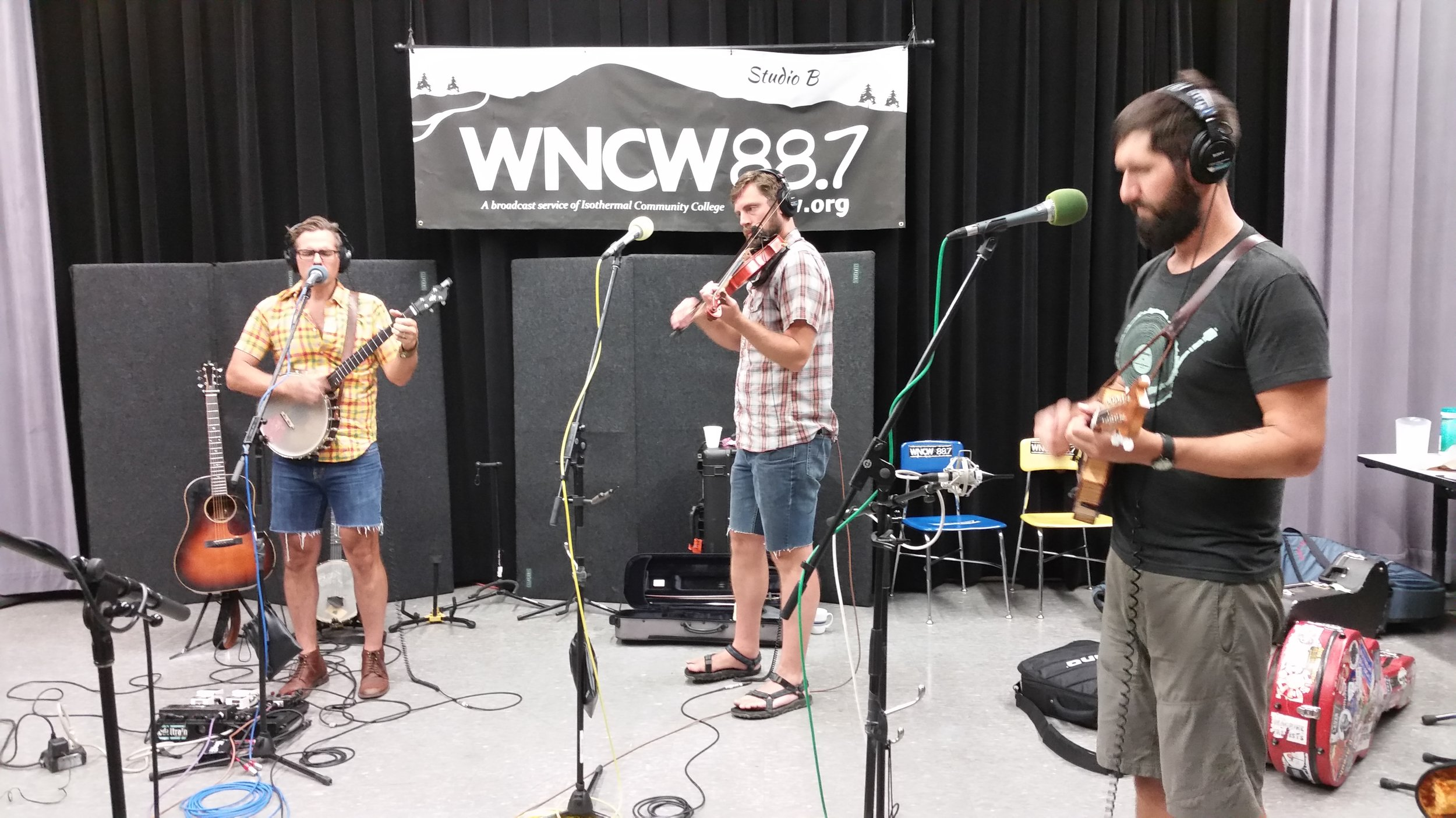 Fresh off of their festival Red Wing, The Steel Wheels visit WNCW