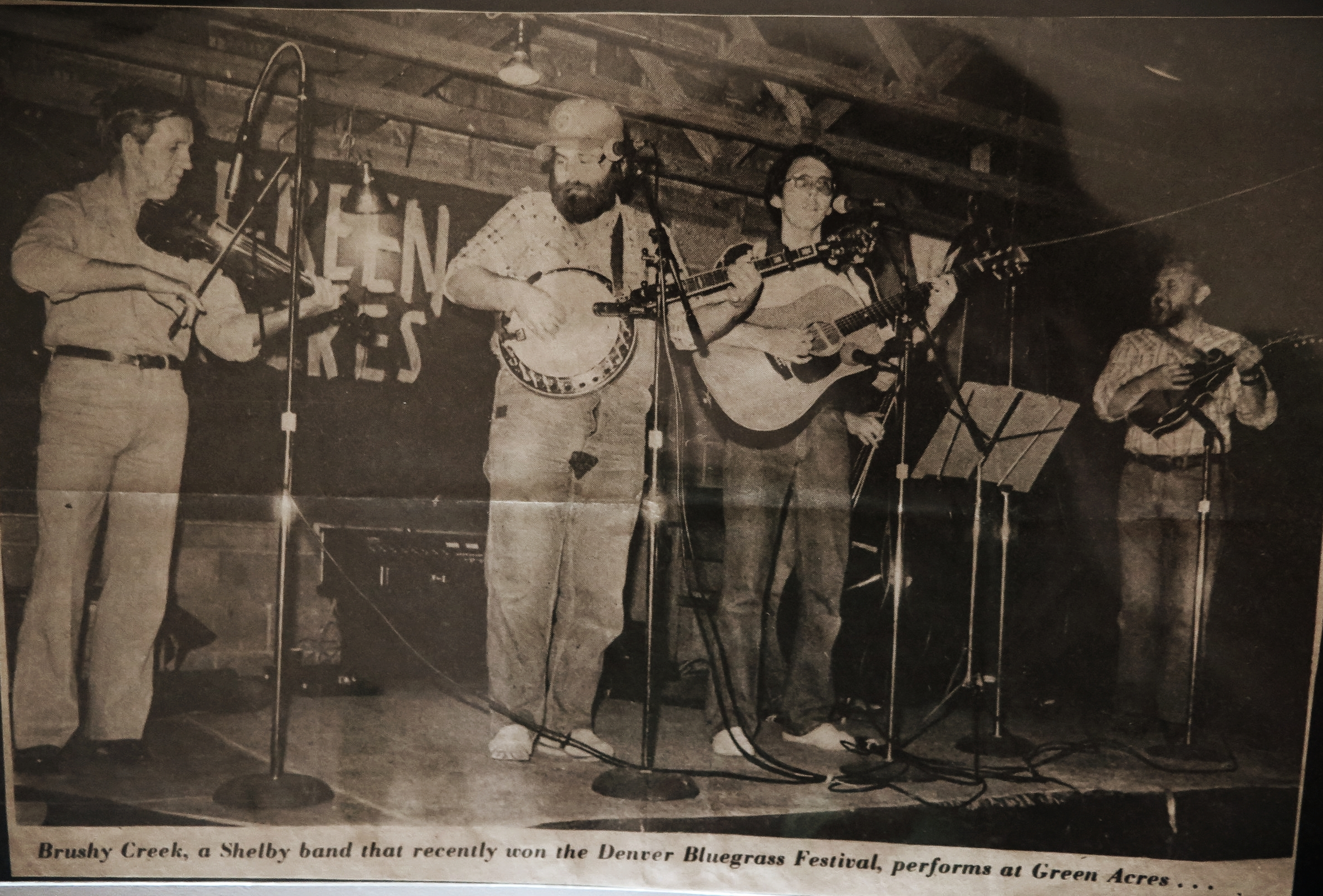 Brushy Creek plays at Green Acres in the late 1970s.
