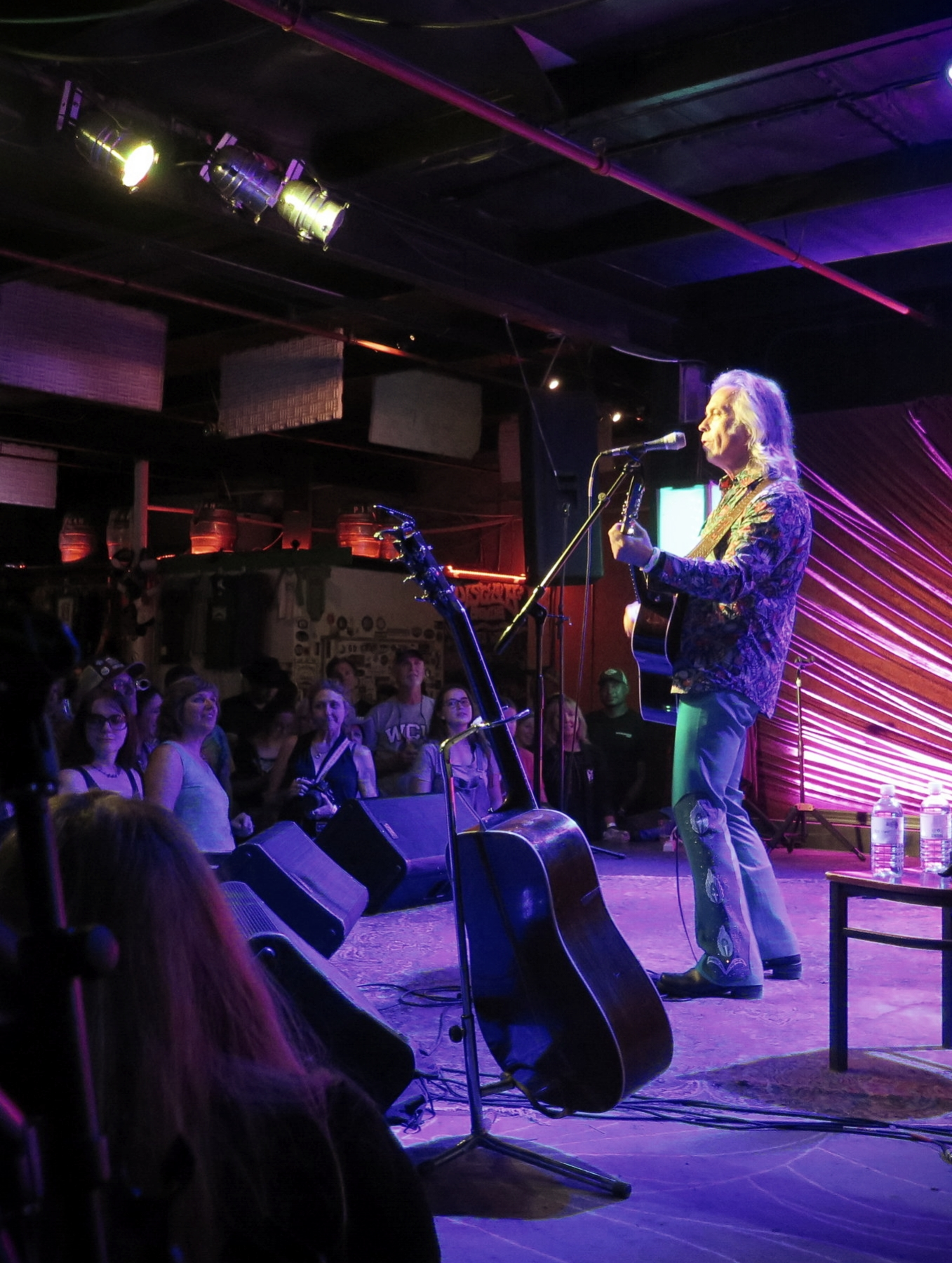 Jim Lauderdale is featured in our next podcast. He is pictured here playing at Pisgah Brewing Company in Black Mountain, NC for Jam In The Trees on 8-26-17.